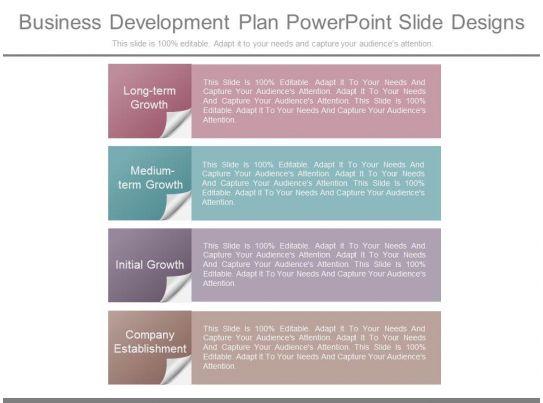 Web development business plan ppt