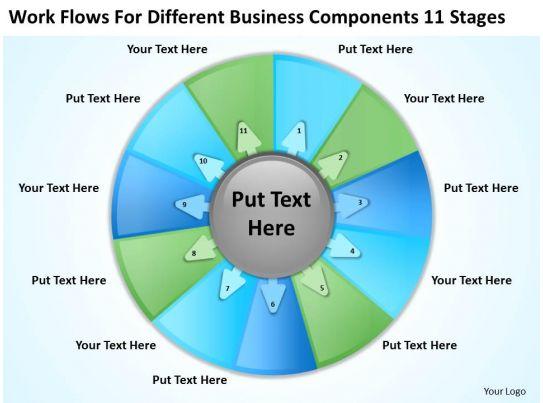 brand development process template - business development process diagram 11 stages powerpoint