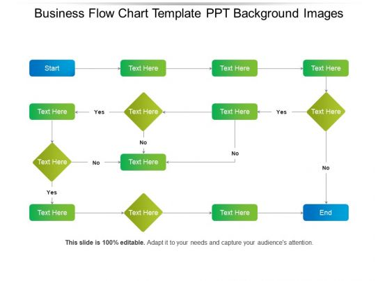 Business Flow Chart Template Ppt Background Images ...