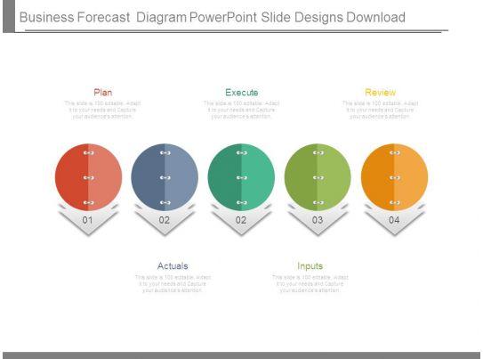 business forecast diagram powerpoint slide designs download. Black Bedroom Furniture Sets. Home Design Ideas