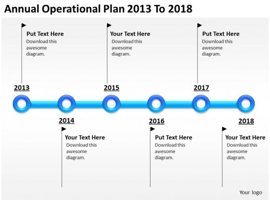 Business Network Diagram Annual Operational Plan 2013 To 2018