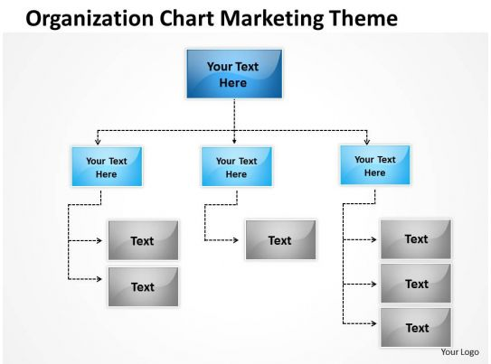 Business Network Diagram Examples Organization Chart Marketing