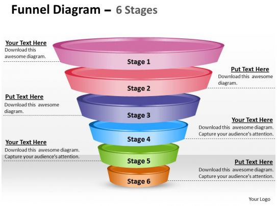 Business Powerpoint Templates Funnel Diagram Editable