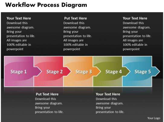 business powerpoint templates workflow process diagram consists of 5 stages sales ppt slides. Black Bedroom Furniture Sets. Home Design Ideas