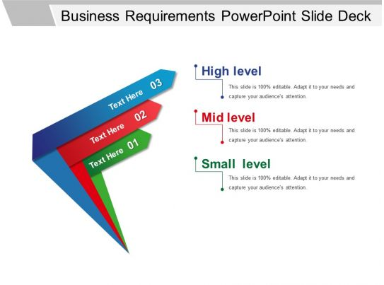 business requirements powerpoint slide deck
