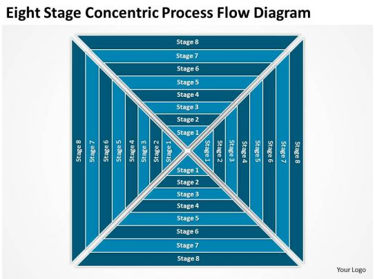 business use case diagram example eight stage concentric process flow powerpoint templates. Black Bedroom Furniture Sets. Home Design Ideas