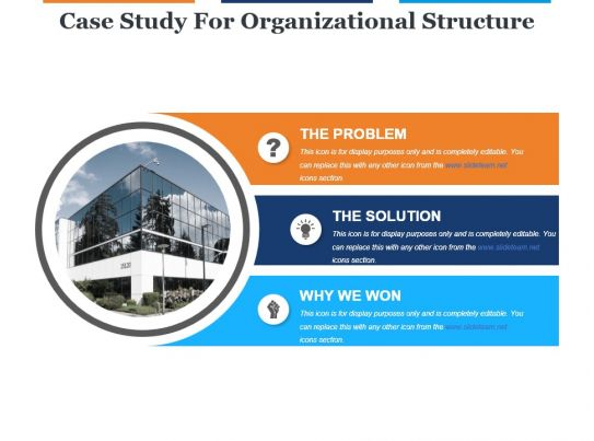 organization structure case study Cisco it case study a traditional siloed organizational structure prepare phase, the organization determines a business case.