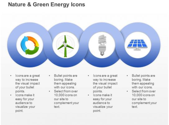 Cd Ecology And Green Energy Icons With Windmill Cfl And Solar Light ...