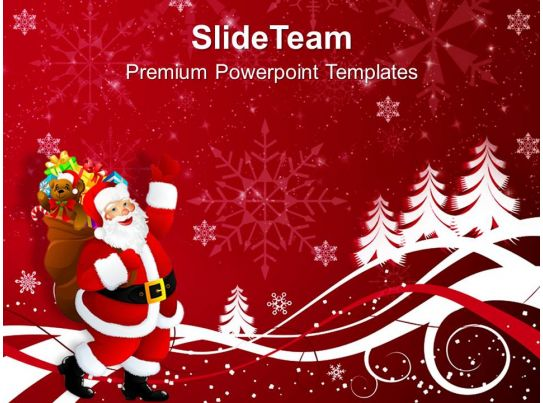 christmas clipart happy santa claus on background