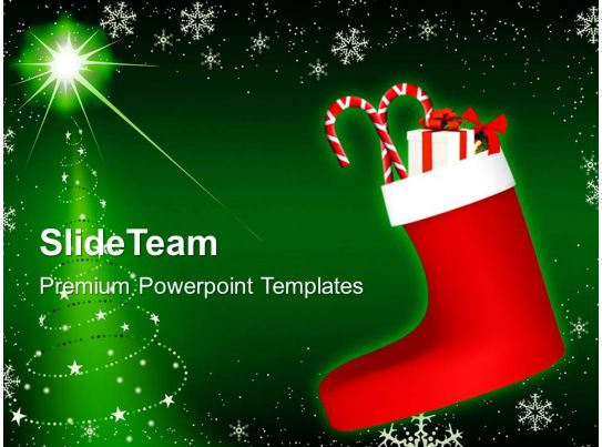 christmas image events powerpoint templates ppt. Black Bedroom Furniture Sets. Home Design Ideas