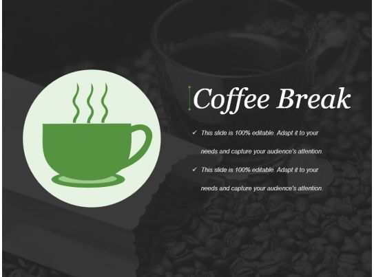 coffee break powerpoint presentation examples