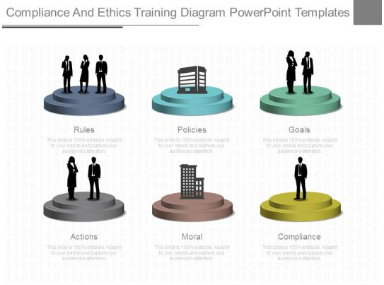 compliance and ethics training diagram powerpoint templates presentation powerpoint templates. Black Bedroom Furniture Sets. Home Design Ideas