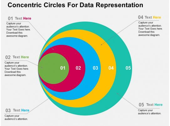 15604314 Style Circular Concentric 5 Piece Powerpoint Presentation Diagram Infographic Slide