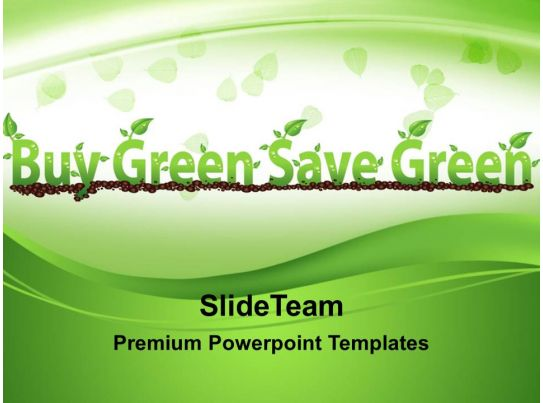 Conservation of nature powerpoint templates buy green save for Buy professional powerpoint templates