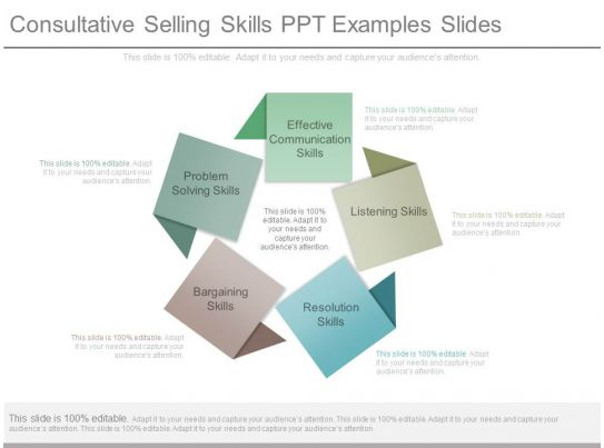 consultative selling skills ppt examples slides