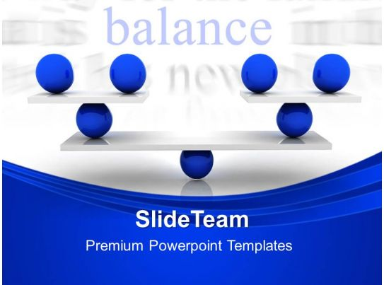 Creative Marketing Concepts Powerpoint Templates Balance ...