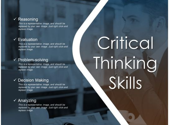 critical thinking skills ppt samples download