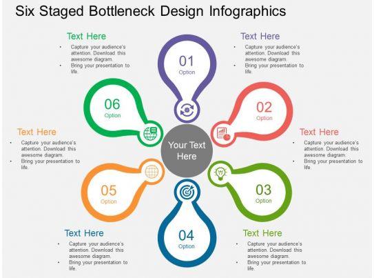 Cs Six Staged Bottleneck Design Infographics Flat