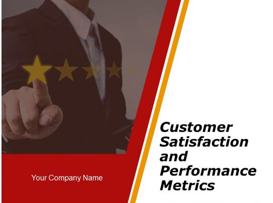 customer satisfaction and performance metrics powerpoint