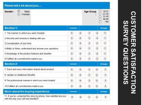presentation survey template presentation survey template