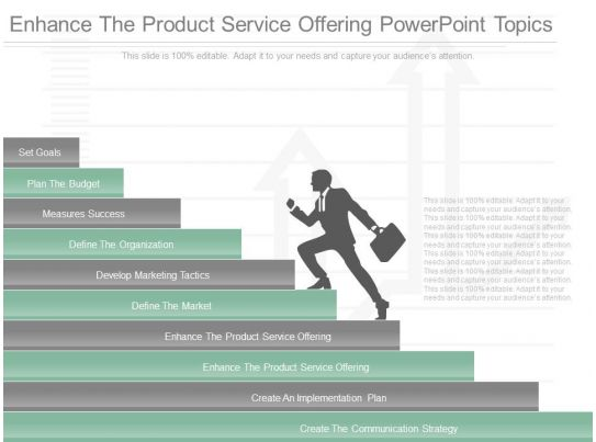 different enhance the product service offering powerpoint