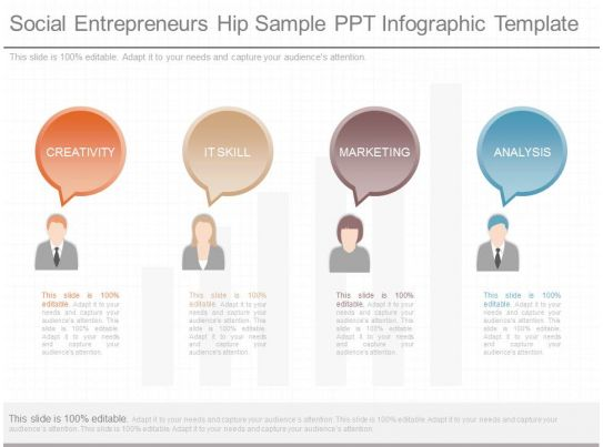 social entrepreneurship business plan template - download social entrepreneurs hip sample ppt infographic
