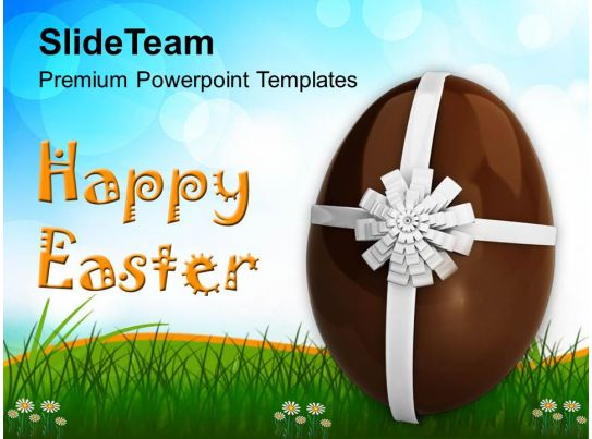 Easter Egg Clipart Gift Of Powerpoint Templates Ppt