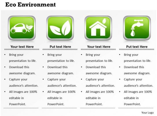 eco environment powerpoint template slide slide07, Presentation templates