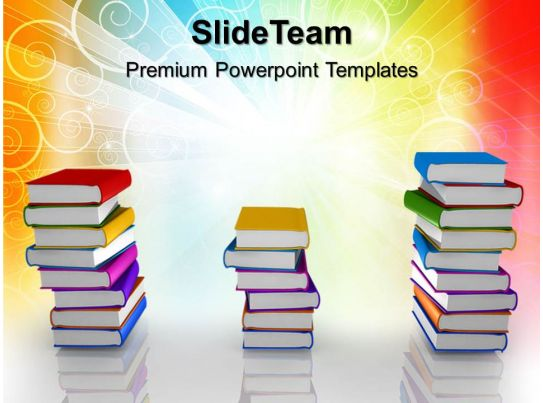 education templates for powerpoint books ppt themes powerpoint