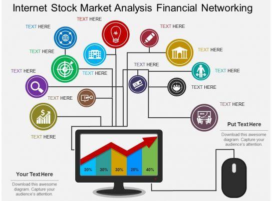 ef internet stock market analysis financial networking flat powerpoint design. Black Bedroom Furniture Sets. Home Design Ideas