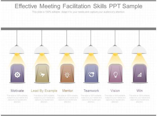 effective meeting facilitation skills ppt sample