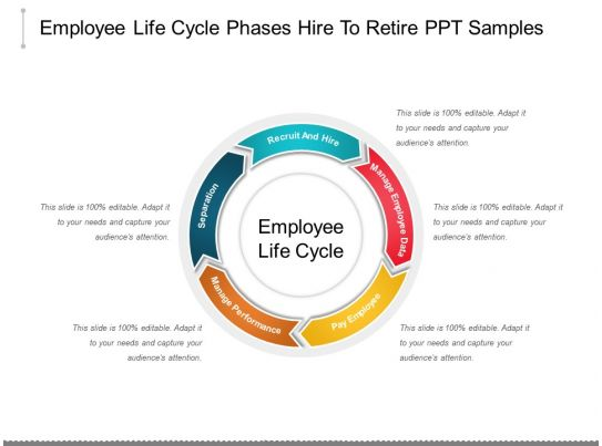 28620931 style circular loop 5 piece powerpoint