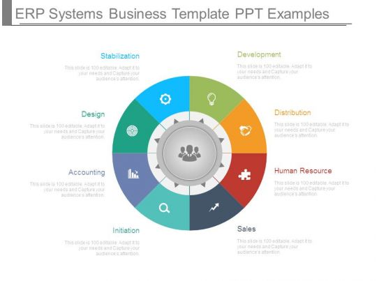 Erp Systems Business Template Ppt Examples