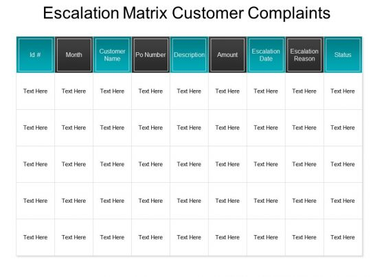 Fine Escalation Process Template Pattern Resume Ideas