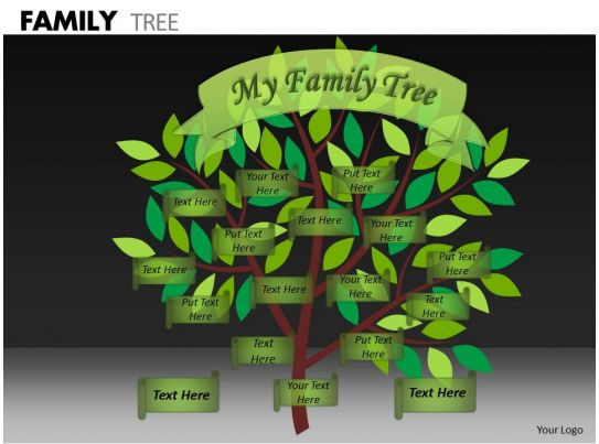 Family Tree Ppt 8 Powerpoint Slides Diagrams Themes For Ppt