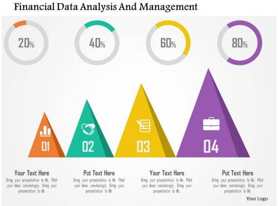 Financial Data Analysis And Management Flat Powerpoint Design – Financial Data Analysis