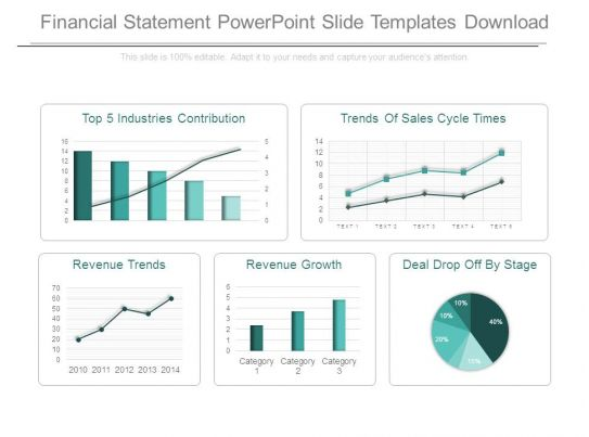 44966581 Style Essentials 2 Financials 5 Piece Powerpoint