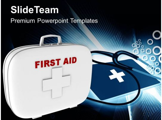 First Aid Box Medical Symbol Powerpoint Templates Ppt Themes And