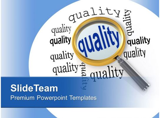 Focusing On Quality Business Management Powerpoint
