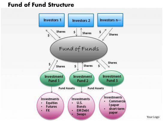 Fund Of Fund Structure Powerpoint Presentation Slide