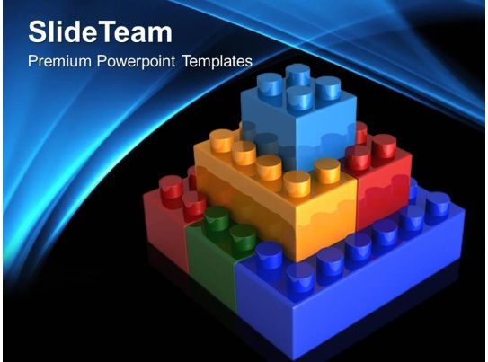 Giant building blocks powerpoint templates lego teamwork for Team building powerpoint presentation templates