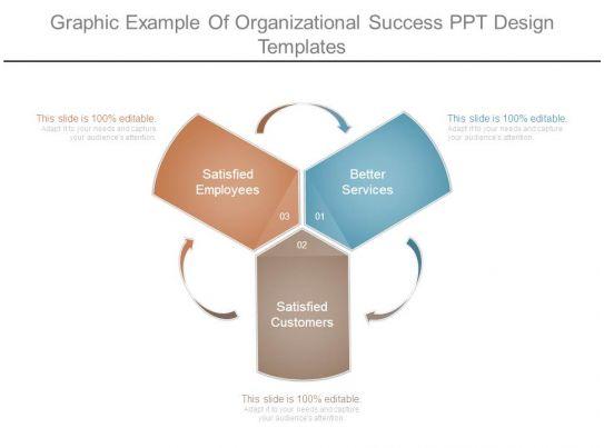 graphic example of organizational success ppt design
