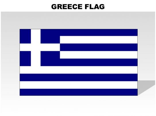 Greece country powerpoint flags powerpoint slide images for Greek flag template
