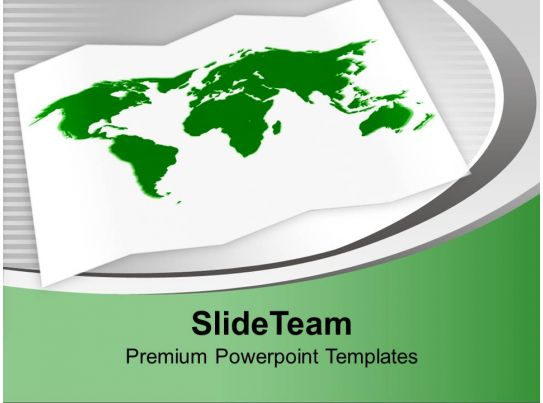 green world map in white background powerpoint templates ppt themes and graphics 0113 presentation powerpoint images example of ppt presentation ppt