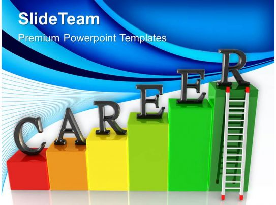 growth histograms and bar graphs powerpoint templates