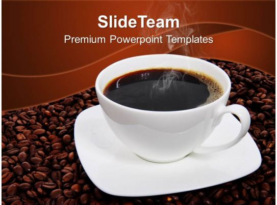 health powerpoint templates free coffee beans