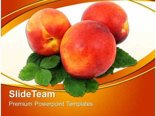 Health Templates For Powerpoint Healthy Fruits Food Image Ppt Slides