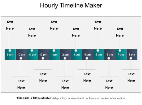hourly timeline