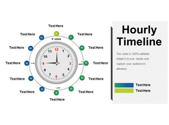 hourly timeline presentation visual aids