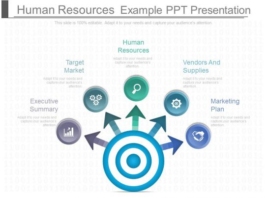 hr ppt templates free download - human resources example ppt presentation